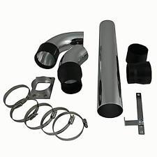 Powerrohr 19 Teile Universal Kit für Sportluftfilter Aluminium+Adapter+Schellen