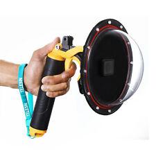 Telesin 6inch Diving Lens Dome Port+ Stabilizer Trigger Handgrip for GoPro 5