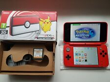 Nintendo New 2DS XL Pokeball Edition handheld console pokemon Boxed