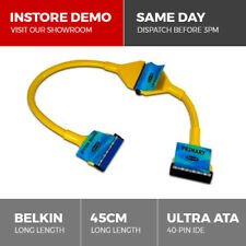 Belkin 45cm Ultra ATA 40-Pin IDE PC Cable for Hard Drive CD ROM DVD Lead