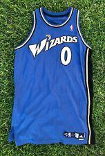 Gilbert Arenas Washington Wizards NBA Game Issue Away Adidas Jersey Agent 0 +4