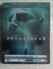 Prometheus EDITION COLLECTOR STEELBOOK LIMITé  3D+2D BLU RAY+DVD 4 DISC NEUF