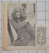 INGRID BRETT Actress Daughter Of John Boulting 1966 News Clipping