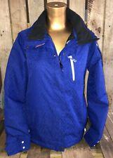Salomon Climapro 10000 Men's Small Ski Jacket Snowboard Coat Blue Make Offer!!!