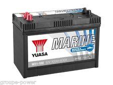 Batterie Decharge lente marine bateau Yuasa M31-100 12v 100ah 330x175x240mm