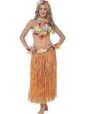 2 X Hula Honey Instant Kit Hawaiian 5pc Fancy Dress Grass Skirt Luau Outfit