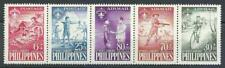 Philippines 1959 Sc# CB1-3a Airmail Scouts strip 5 MNH