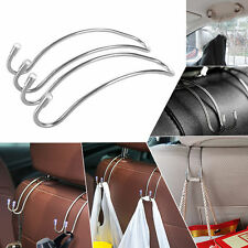 2pcs Car Seat Truck Stainless Steel Hook Purse Bag Hanger Bag Organizer Holder