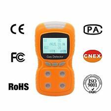 Portable Multi Gas Detector Gas Clip 4-Gas LPG/CO/O2/H2S Monitor Alarm Battery