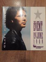CLIFF RICHARD : THE EVENT TOUR PROGRAMME 1989 WEMBLEY STADIUM