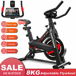 Full Adjustable Exercise Bikes Cycling Bike Bicycle 8KG Fitness Workout Cardio