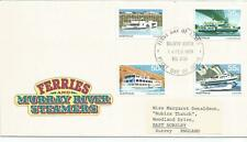 Australia Fdc 1979 Ferries And Murray River Steamers