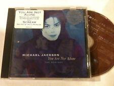 MICHAEL JACKSON 'You Are Not Alone' 1995 CD Single - 5 Tracks - Scream - Janet