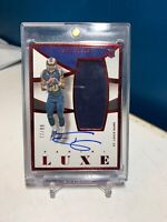 2015 Panini Luxe Todd Gurley RC Red Autograph Jersey /99 Rookie Auto Rams
