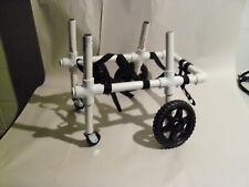 QUAD HANDICAPPED DOG OR PET WHEELCHAIR, MADE TO FIT YOUR SMALL PETS MEASUREMENTS