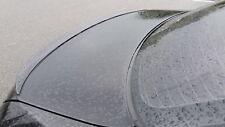 Genuine Matte Black Slim Spoiler Demolition Edge Lip for Audi 80 A4