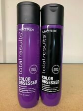 Matrix Total Results Color Obsessed Shampoo & Conditioner 10.1oz DUO!