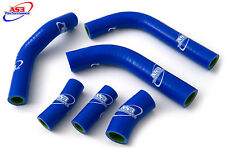 KAWASAKI KXF 450 2016-2017 HIGH PERFORMANCE SILICONE RADIATOR HOSES BLUE