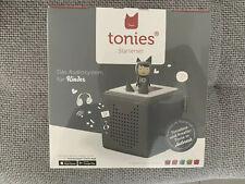 tonies 03-0009 Toniebox Startset mit Kreativ-Tonie - Antrazit
