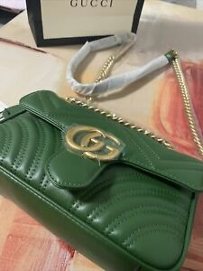 Green Authentic Gucci Bag