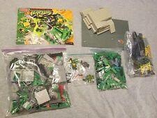 Mega Bloks Teenage Mutant Ninja Turtles 1411 Battle Shell Bridge COMPLETE +Extra