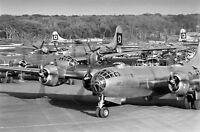 WW2 WWII Photo USAAF B-29 Superfortress Bombers  Guam 1945 World War Two / 5377