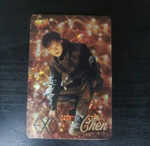 EXO Shiny YES! Magazine Official Photocard (Unofficial) CHEN ONLY EXO-M