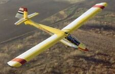 Rubik R-26 Góbé Hungarian Trainer Glider Handcrafted Wood Model Large New