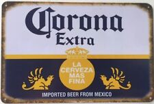 Corona Beer Rustic Look Vintage Tin Signs Man Cave, Shed & Bar Sign