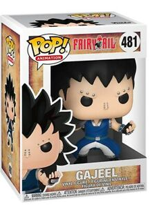 Funko POP! Animation - Fairy Tail Anime - Gajeel - Dragon Slayer - Figur 481