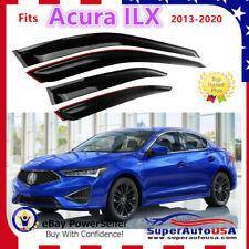 Fits Acura ILX 2013-2020 Door Deflectors Rain Guard  Window Visors Deflectors
