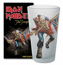 Iron Maiden Glas The Trooper Bierglas Longdrink Glas XL 500ml Trinkglas 1 Pint