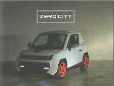 Tazzari Zero City Prospekt / Brochure_Genf / Geneva 2017