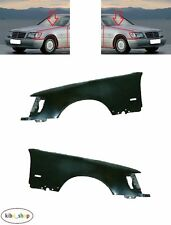 MB S-CLASS W140 1991 - 1998 FRONT WINGS FENDERS PAIR LEFT + RIGHT FLASHER HOLE
