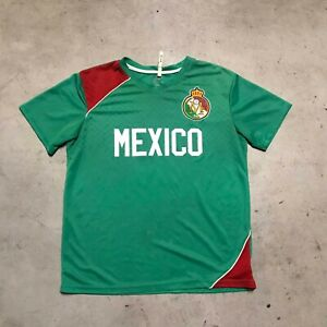 Mexico National Team Green #5 Youth Soccer Jersey