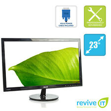"Asus VS238H-P 23"" Widescreen 1920x1080 FHD LED LCD Monitor HDMI DVI VGA Grade A"