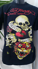 Ed Hardy By Christian Audigier T-Shirt Gr. L schwarz