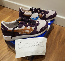Asics gel lyte x Patta GRIS MEDIO/MIEL Jengibre-UK10.5 US11.5 EU45.5