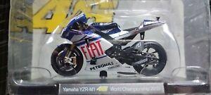 YAMAHA YZR M1 1/18 Valentino ROSSI Saison Moto GP 2010  NEUF EMBALEE