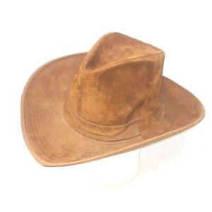 Cowboy Hat Resistol Western Suede Tan Size 6 7/8