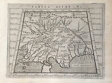 MAP OF PTOLOMEO, original map of India,Cologne 1597