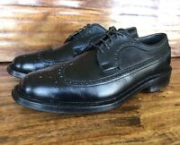 Mens Footjoy Wingtip Dress Shoes Size 9.5 D Made In The USA
