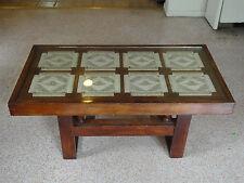 RARE 60's DANISH ROPE COFFEE TABLE IN MANNER of FRITZ HANSEN / HANS WEGNER