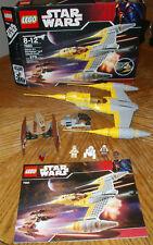 7660 NABOO STARFIGHTER VULTURE DROID star wars lego legos set box instructions