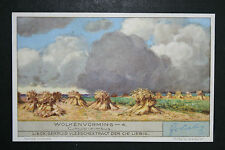 Cumulo Nimbus Cloud    Large 1930's Vintage Card  VGC