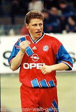 Max Eberl Bayern München 1991-92 seltens Foto
