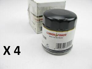 (4) Luberfiner PH7028 Engine Oil Filters - PACK OF 4 FILTERS