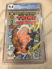 Marvel Two In One 61 CGC 9.4 1980 The Thing And Starhawk Her Awesome!!!