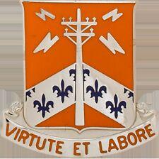 302 Signal Bn Unit Crest (Virtute Et Labore)