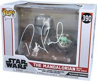Pedro Pascal Star Wars The Mandalorian With the Child Signed #390 Funko Pop!